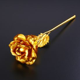11 Inch Golden Rose